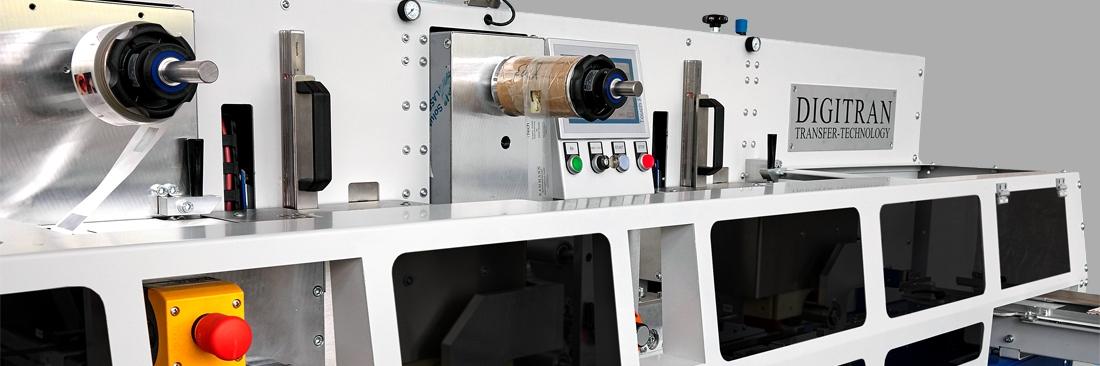 DIGITRAN TRF - Heißtransfermaschine für Zollstöcke und Maßstäbe