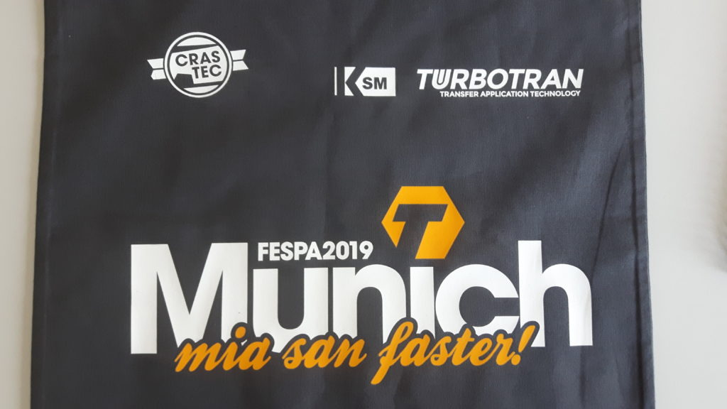 Multi-Transfer with the TURBOTRAN 6.1 – Live at the FESPA 2019