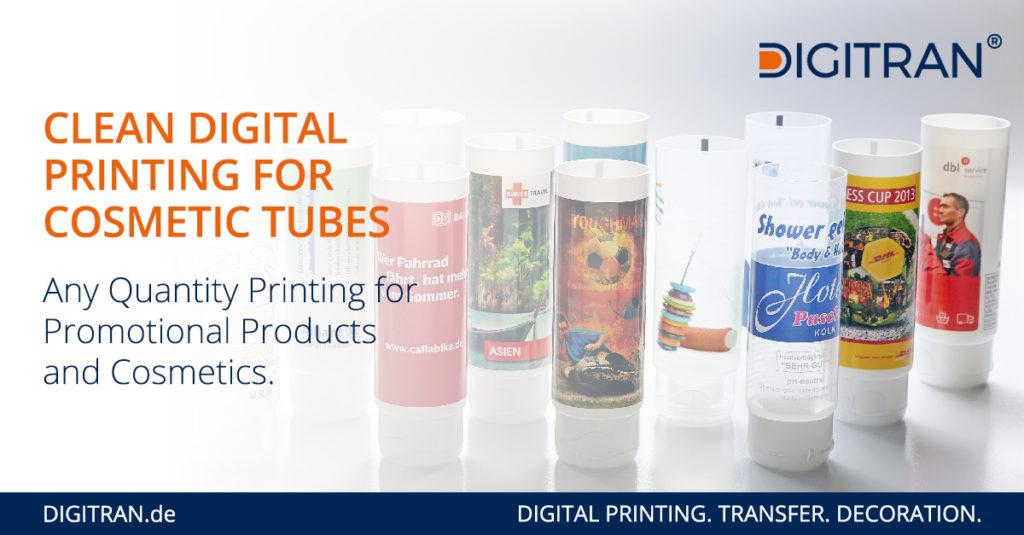 Short Run Digital Printing for Cosmetic Tubes