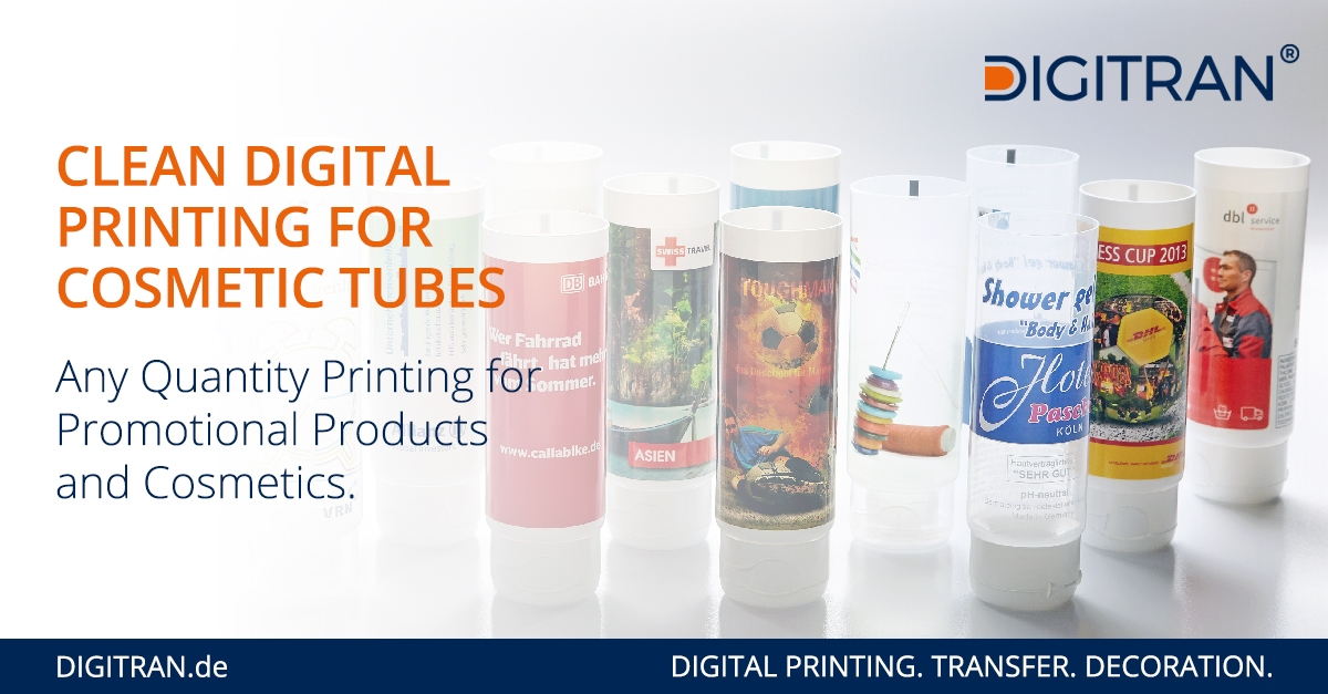 Short Run Digital Printing for Cosmetic Tubes