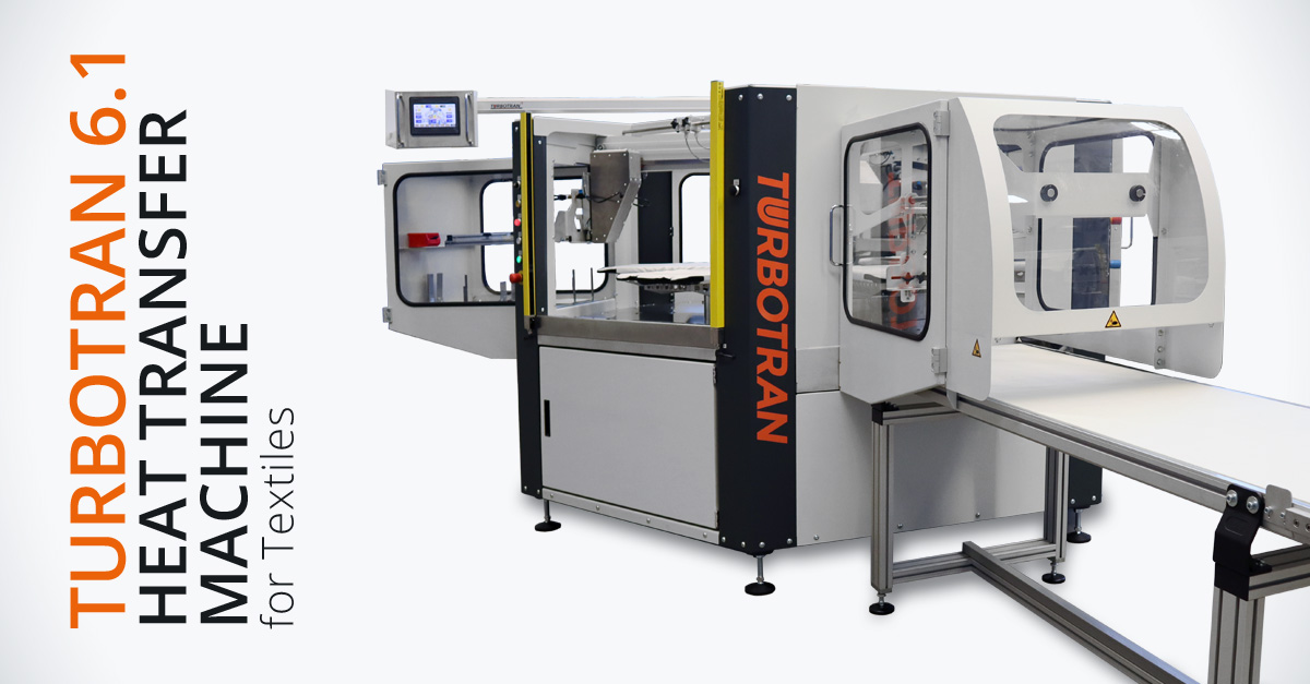 TURBOTRAN 6.1 – The fastest heat transfer machine for textile printing