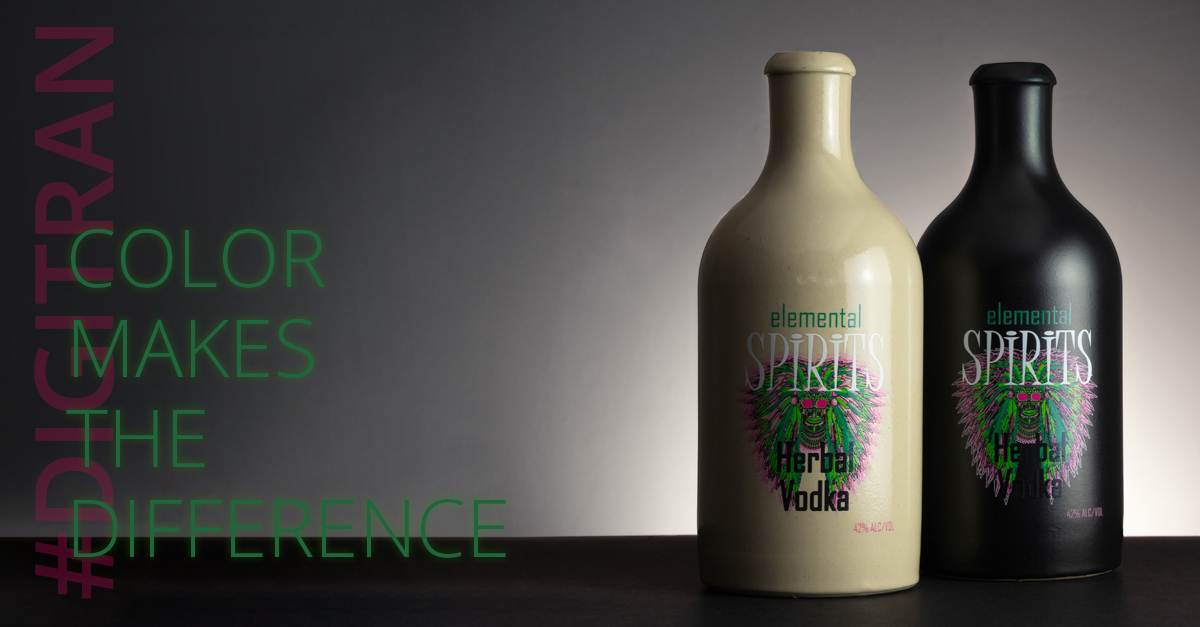 CMTD - Ceramic Bottle Digital Heat Transfer Print