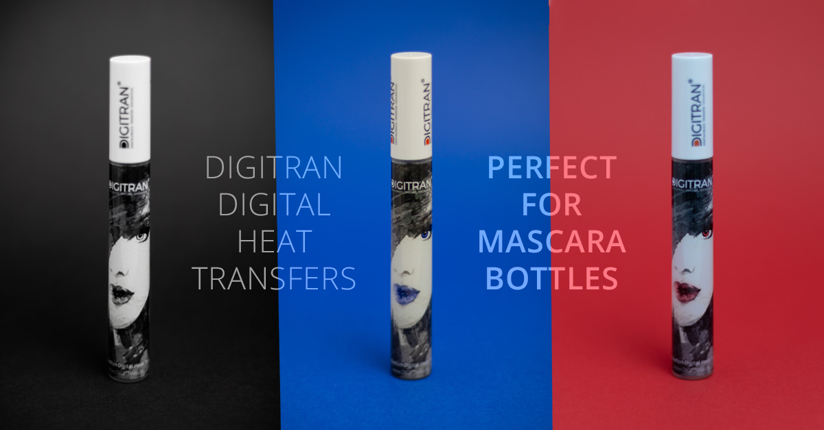 Mascara Bottle digitally printed
